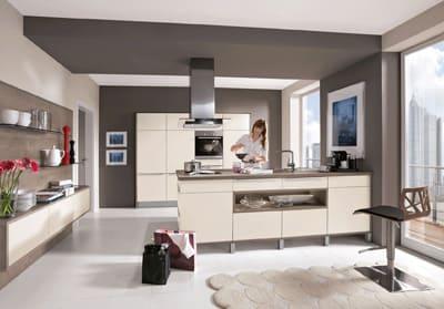 German Shaped Kitchen